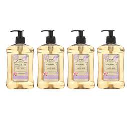 A La Maison Hand Soap Bundle Rose Lilac 16.9fl.oz. 500ml 4xB