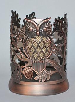 Bath & Body Works Hand Soap Sleeve Holder Copper Glitter Owl