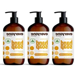 Everyone Hand Soap: Spearmint and Lemongrass, 12.75 Ounce, 3