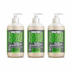 Everyone Hand Soap, Spearmint and Lemongrass, 12.75 Ounce, 3