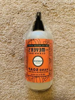 Mrs. Meyer's Clean Day Hand Soap,Pumpkin, 12.5 Ounce