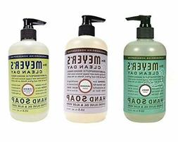 Mrs. Meyers Hand Soap Variety Pack Lemon Verbena, Basil, Lav