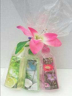 Simple Pleasures Hand Soaps Gift Bundle- 3 Assorted New Spri