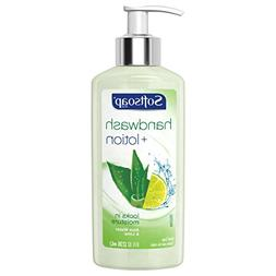 Softsoap Hand Wash Plus Lotion Pump, Aloe Water and Lime - 8