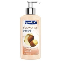 Softsoap Hand Wash Plus Lotion Pump, Shea and Cocoa Butter -