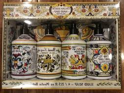 Home & Body Co ITALIAN DERUTA Hand Soap Collection Gift Set