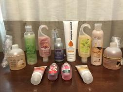 Huge Avon Lot Of Shower Gels Lotion Hand Soap Foam Bath
