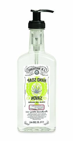 JR Watkins Liquid Hand Soap Aloe & Green Tea  11 oz. 325ml