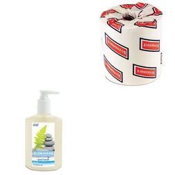 KITBWK6180BWK8500 - Value Kit - Boardwalk Liquid Hand Soap