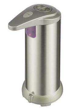 Kitchen Bathroom Liquid Dish Hand Soap Pump Dispenser Stainl