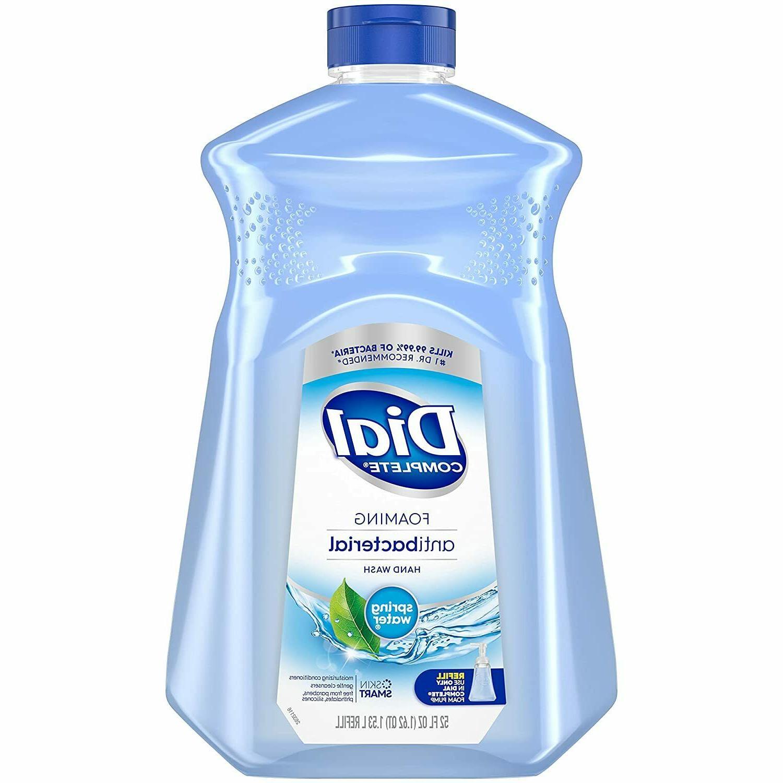 Dial 09027 Antibacterial Foaming Hand Wash Spring Water Scen