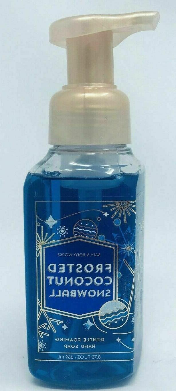 1 bath and body works frosted coconut
