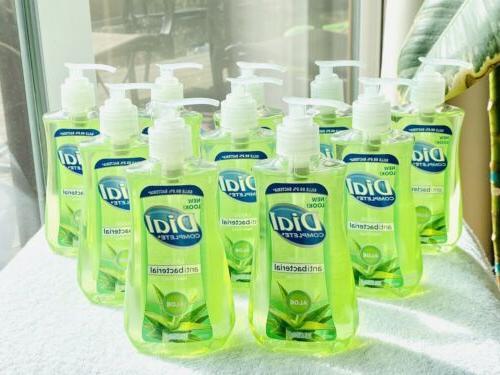 10 x complete aloe liquid hand soap