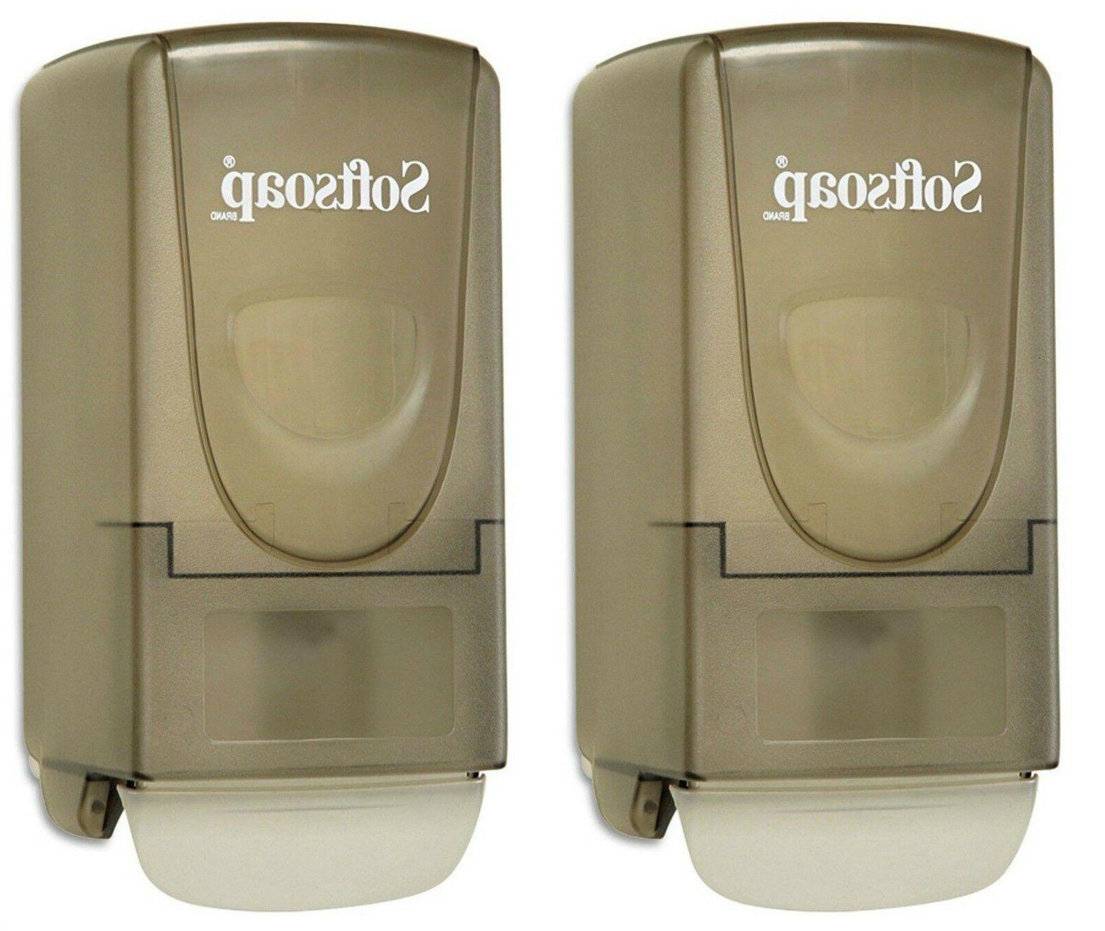 2 Softsoap Liquid Lotion Hand Soap Bathroom Deluxe Dispenser