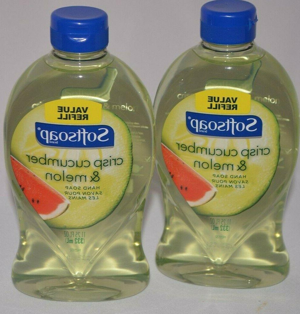 2 crisp cucumber and melon hand soap