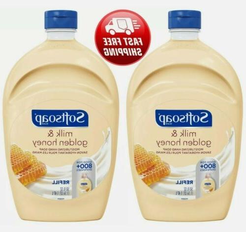 2 pack liquid hand soap 50oz refill