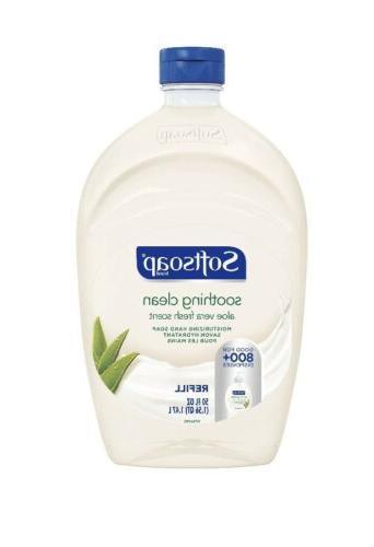 2 pack liquid hand soap refill 50oz