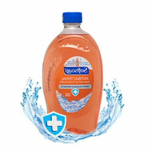 2 Soft Soap Moisturizers 32 Oz EACH Clean