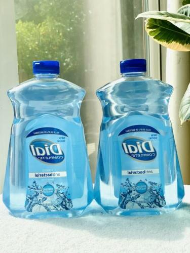 2 x complete hand soap refill large