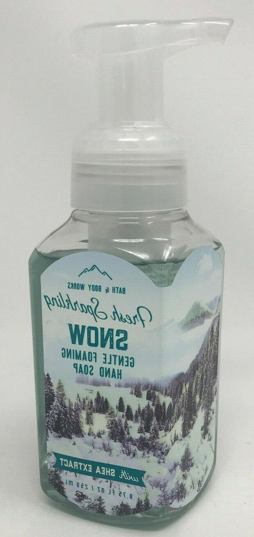 3 Bath Body Works Winter Gentle Foaming Hand Soap Spiced Ora