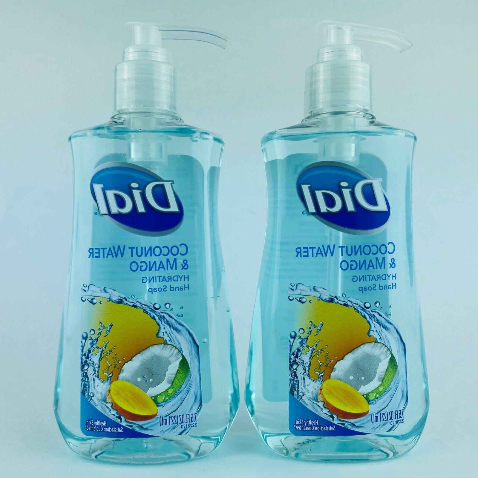 4-Pack Dial Coconut & Hand Soap Fl.oz