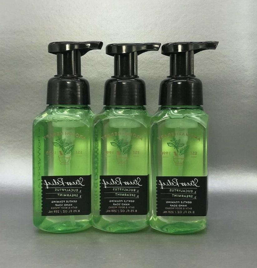 3 piece bath and body works eucalyptus