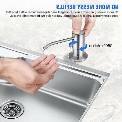 Kitchen Stainless Steel Hands Liquid
