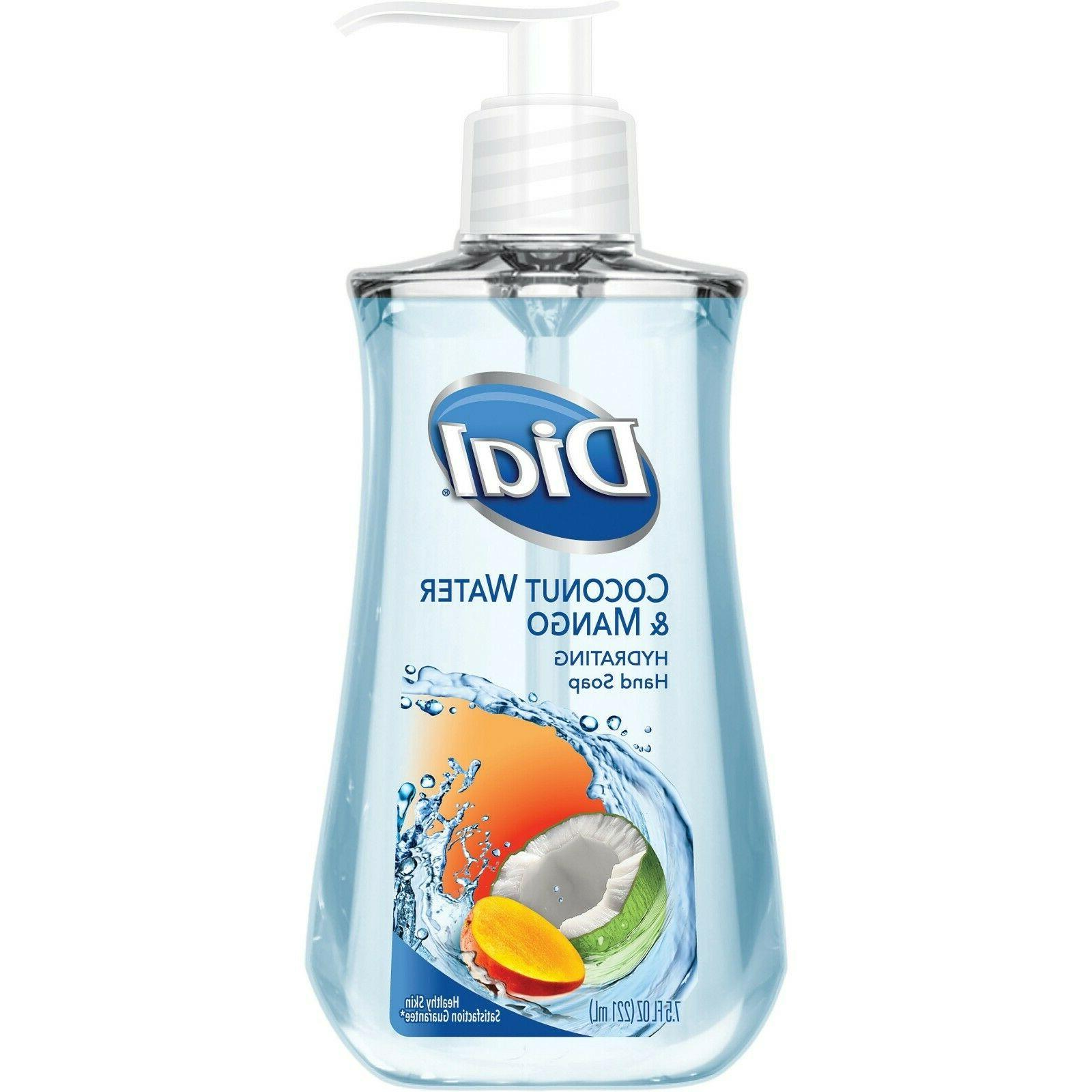 4 Dial Coconut Water Hydrating Hand Soap, 7.5 FL