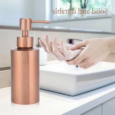 550ML Kitchen Bathroom Countertop Hand Pump Liquid Soap Disp