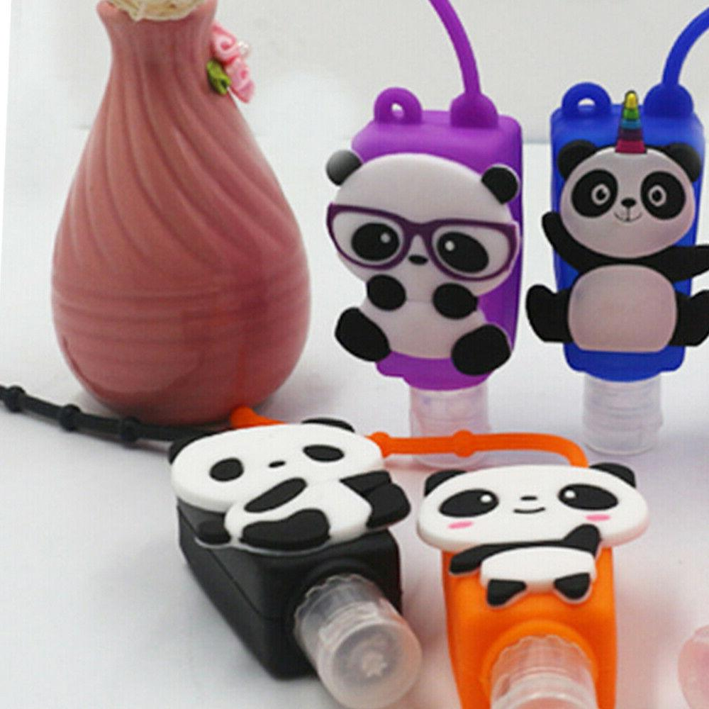 5pcs bottle cartoon children hand soap container