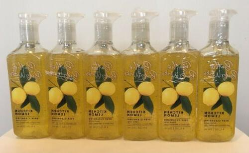 6 bath and body works kitchen lemon