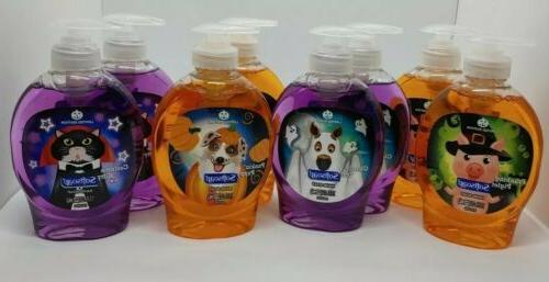 8 liquid hand soap halloween limited addition