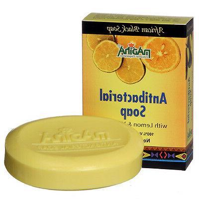 Antibacterial Hand Body Soap Herbal Skin Cleanser Lemon Gras