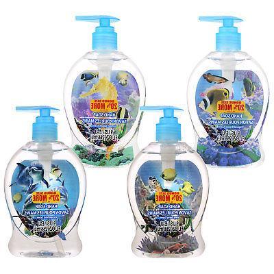 Aquarium Hand Soap 9 oz. Hand Soaps & Sanitizers 3-D aquatic