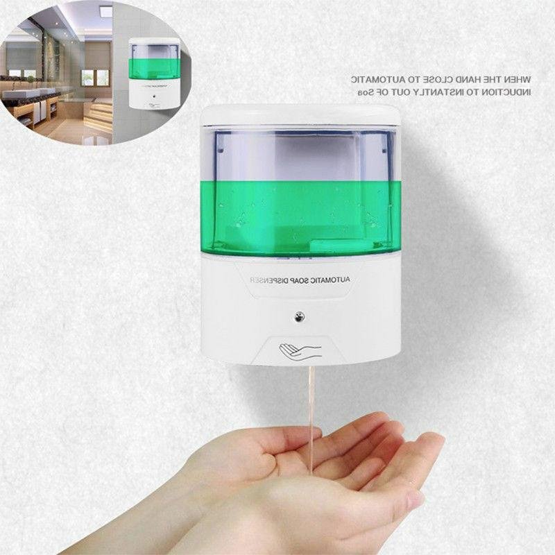 Automatic Soap Dispenser Hand Sanitizer Wall-Mounted 600ml S