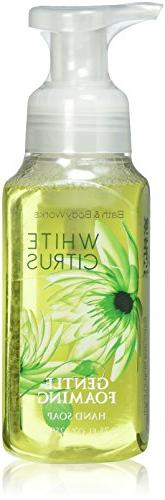 Bath & Body Works, Gentle Foaming Hand Soap, White Citrus