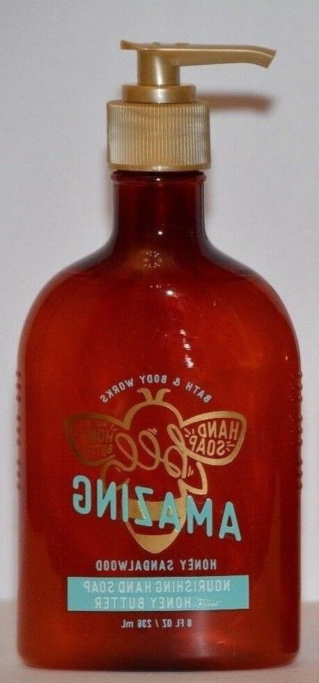 Bath & Body Works Honey Sandalwood Nourishing Hand Soap with