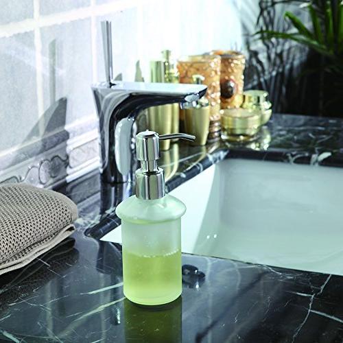 CRW Wall Mount Soap Dispenser Rust 8oz Lotion Steel Kitchen Bathroom Sinks, Countertops