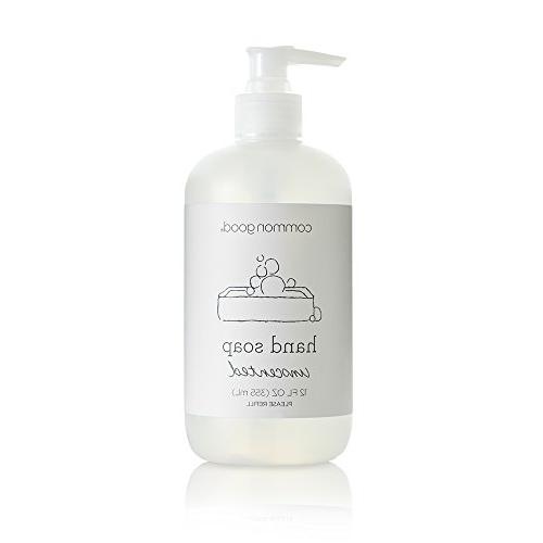 Common Good Hand Soap, Plant-Based with Pure Essential Oil S