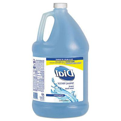 Dial Antimicrobial Liquid Hand Soap Spring Water Scent 1 gal
