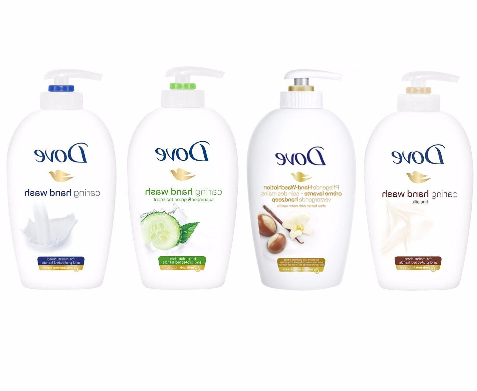 Dove Pampering Caring Hand Wash Pump Liquid Soap 250ml