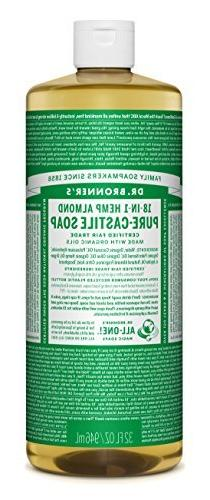 Dr. Bronners Baby Mild Unscented 32oz Castile Soap