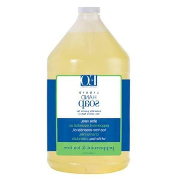 EO PEPPERMINT & TEA TREE LIQUID HAND SOAP 1 GALLON