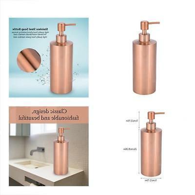 Fdit Soap Dispenser Stainless Steel Kitchen Bathroom Counter