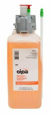 GOJO Foam Hand Soap,1500mL,Orange Blossom,PK2, 8562-02, Oran