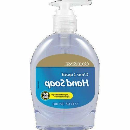 Goodsense Liquid Hand Soap ''1 Count, Clear, 7.5 oz''