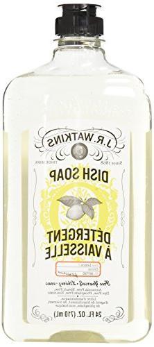 J. R. Watkins Liquid Dish Soap - 24 oz - Lemon - 2 pk
