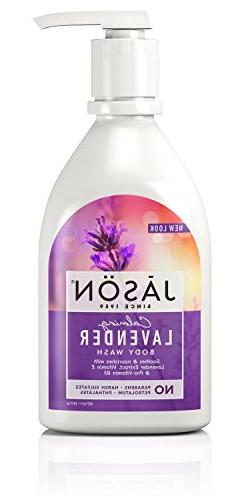 JASON Calming Lavender Body Wash, 30 oz.