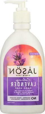 Jason Natural Products-Calming Lavender Pure Natural Hand So