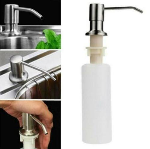 Kitchen Sink Countertop Built in Hand Soap Dispenser Pump St